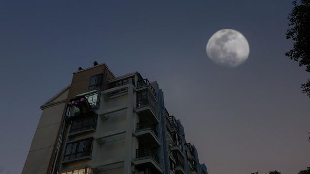 超级月亮拍出来了吗?教你3分钟手机拍出大片级!用过都说很专业